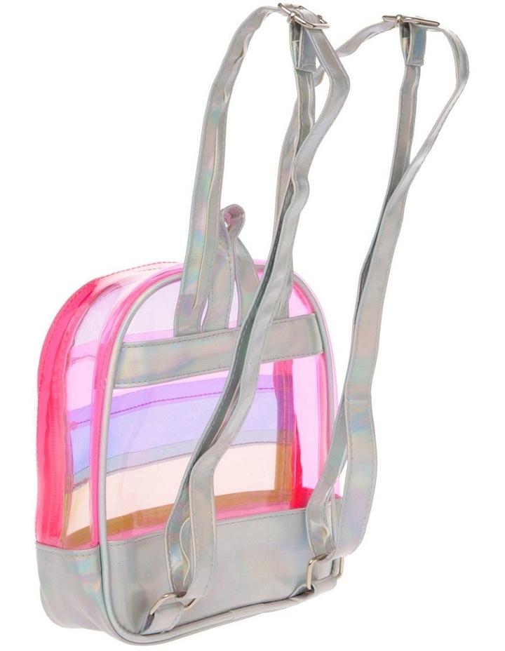 Panelled Rainbow Backpack image 2