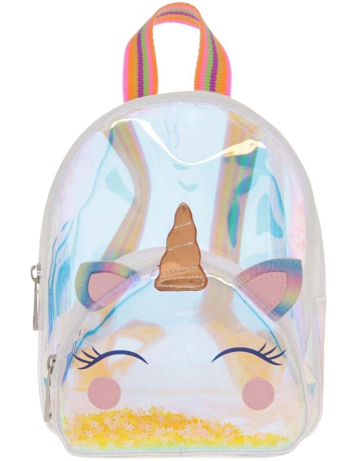 Iridescent Unicorn Backpack image 1