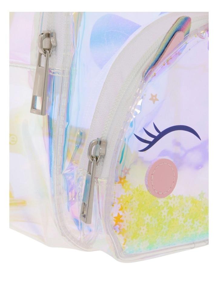 Iridescent Unicorn Backpack image 3