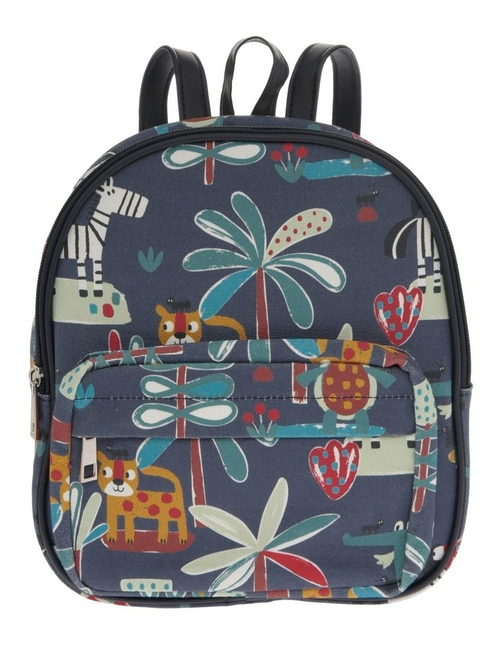 Navy Animal Backpack image 1