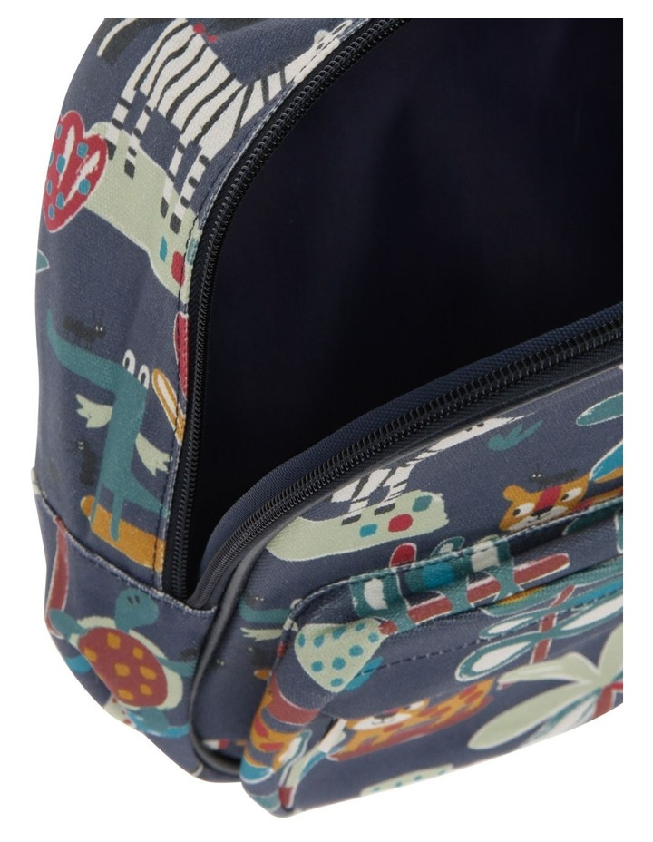 Navy Animal Backpack image 3