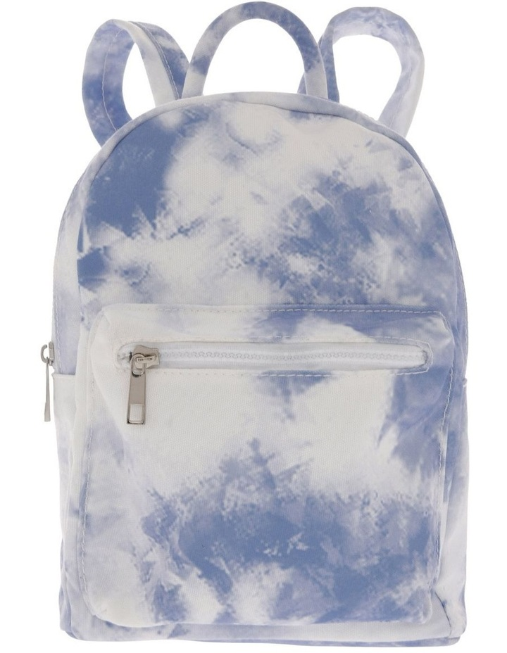 Tie-Dyed Mini Backpack image 1
