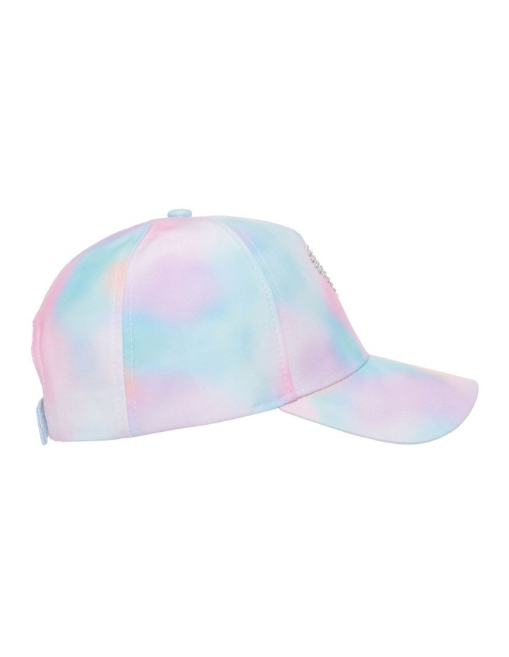 Tie-Dye Cap with Diamant Heart image 3