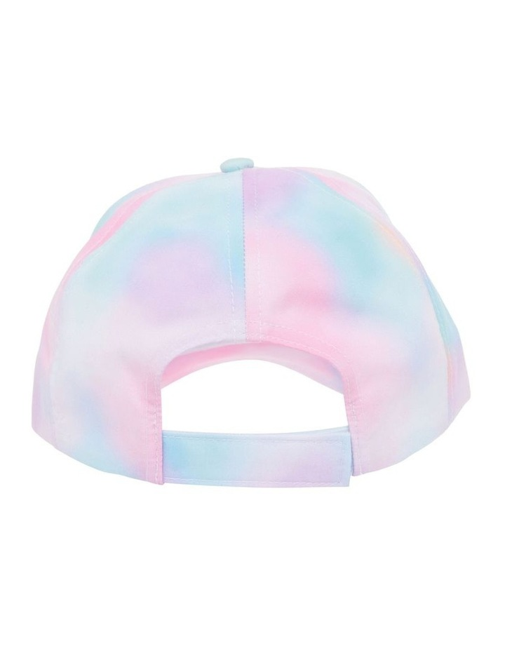 Tie-Dye Cap with Diamant Heart image 4