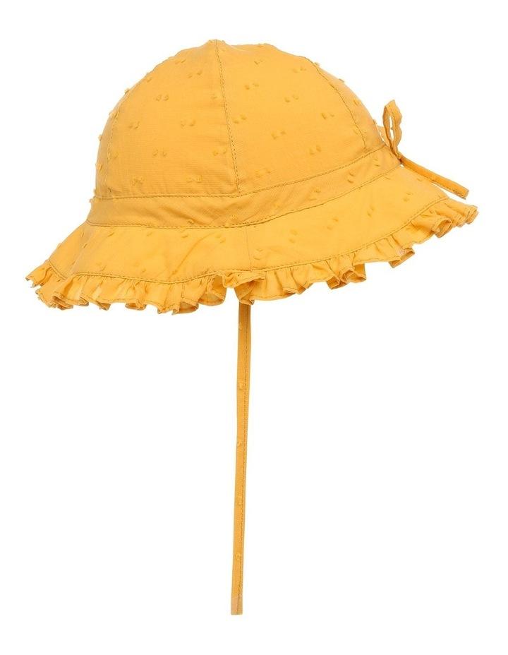 Mustard Hailspot Frill Hat image 2