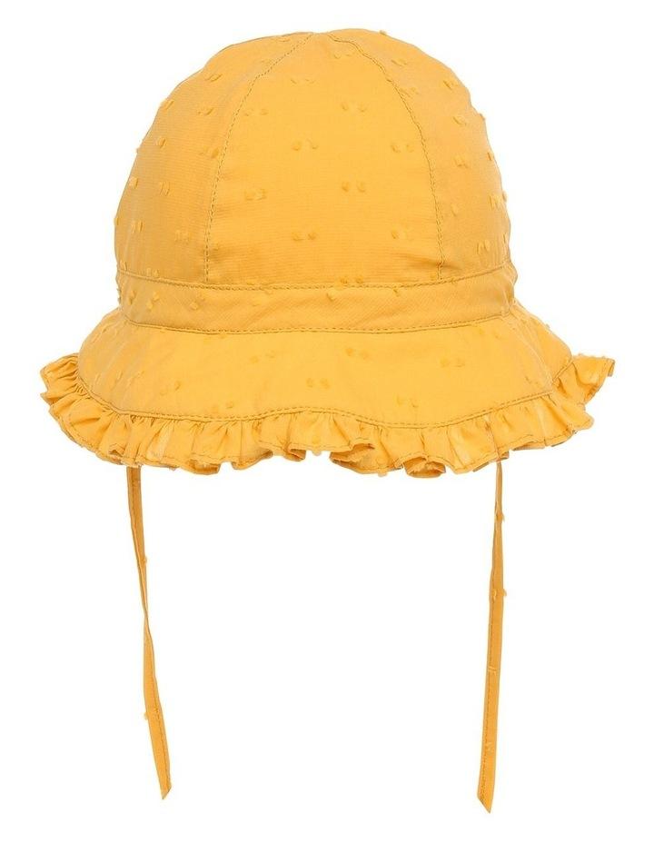 Mustard Hailspot Frill Hat image 3