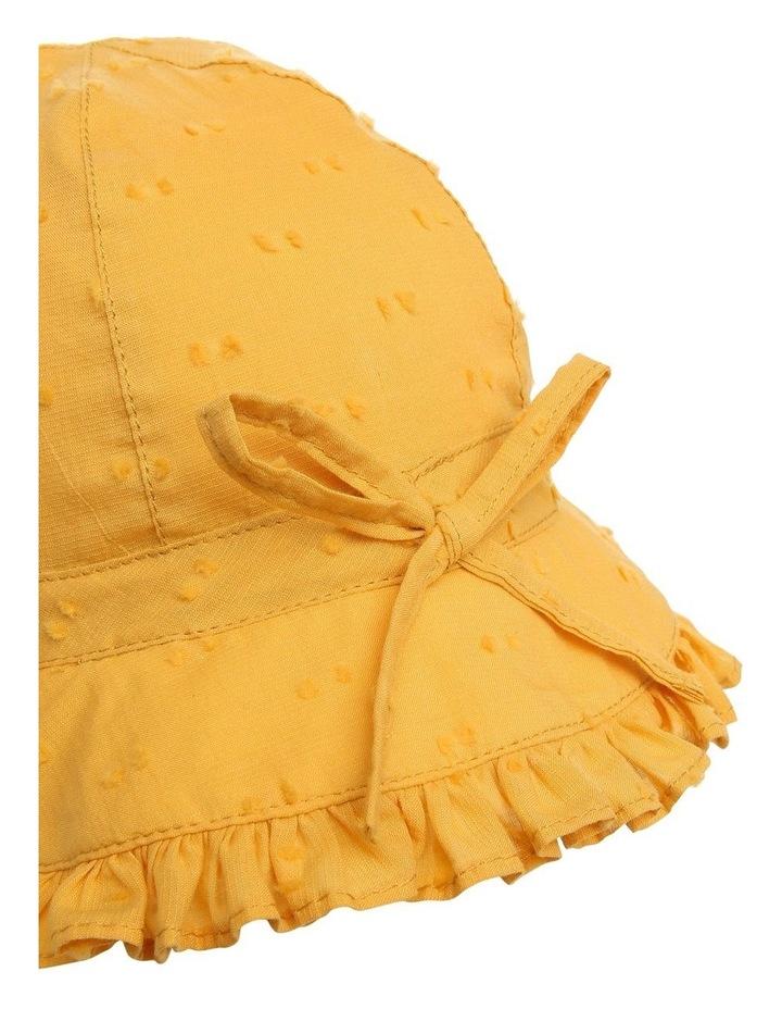 Mustard Hailspot Frill Hat image 4