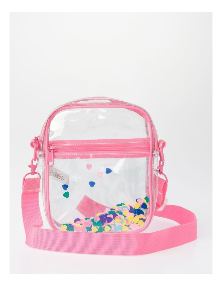 Clear Rainbow Tape Shoulder Bag image 1