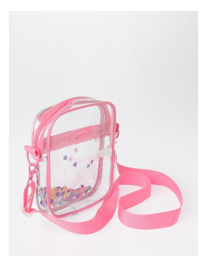 Clear Rainbow Tape Shoulder Bag image 2