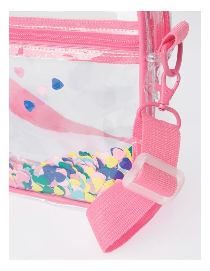 Clear Rainbow Tape Shoulder Bag image 3