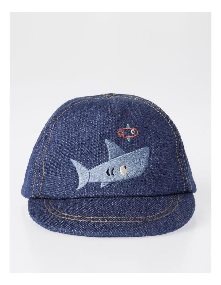 Chambray Shark Cap image 1