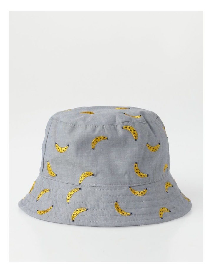 Chambray Banana Bucket Hat image 1
