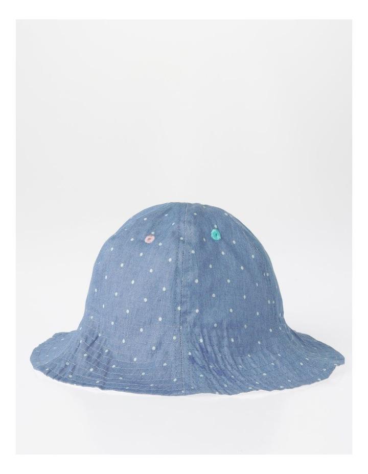 Spot Chambray Bucket Hat image 1