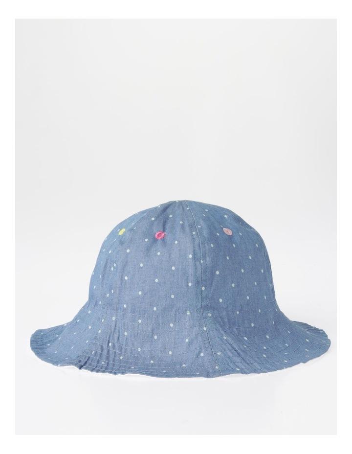 Spot Chambray Bucket Hat image 2