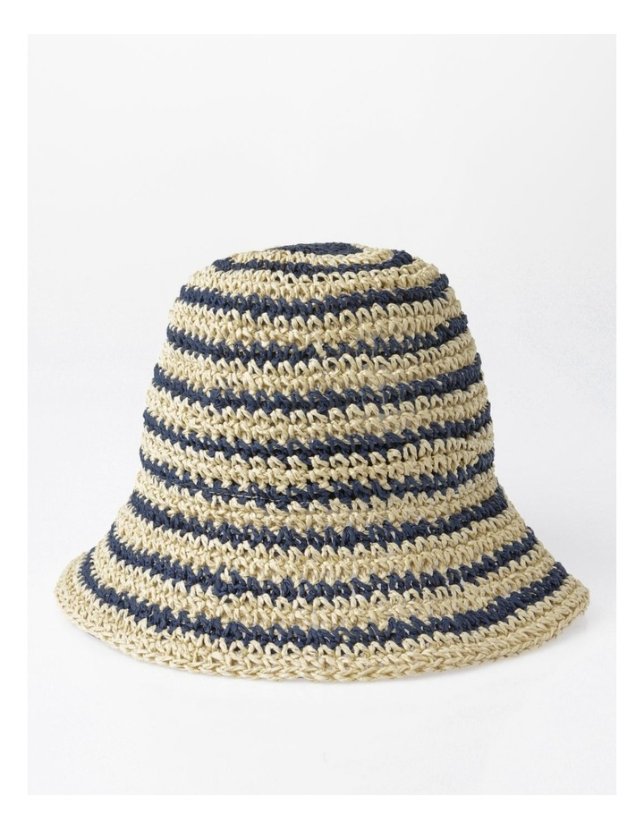 Striped Weaved Sunhat image 1