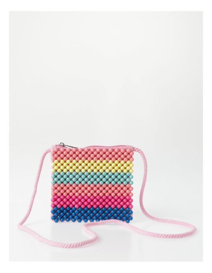 Rainbow Beaded Bag image 1