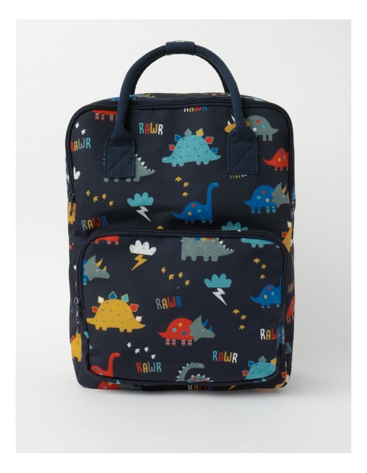 Dino Canvas Backpack image 1