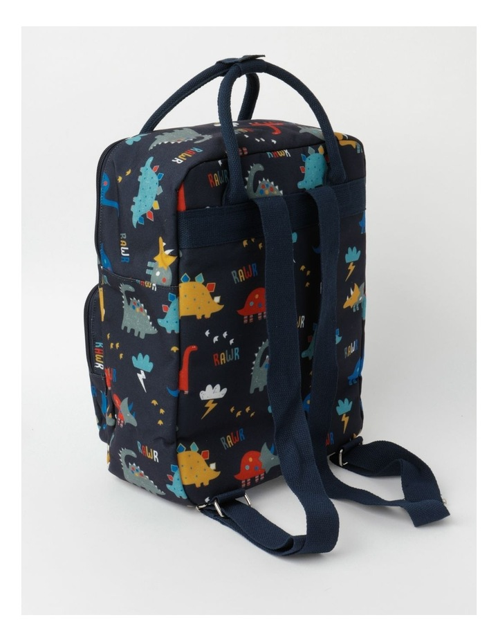 Dino Canvas Backpack image 2