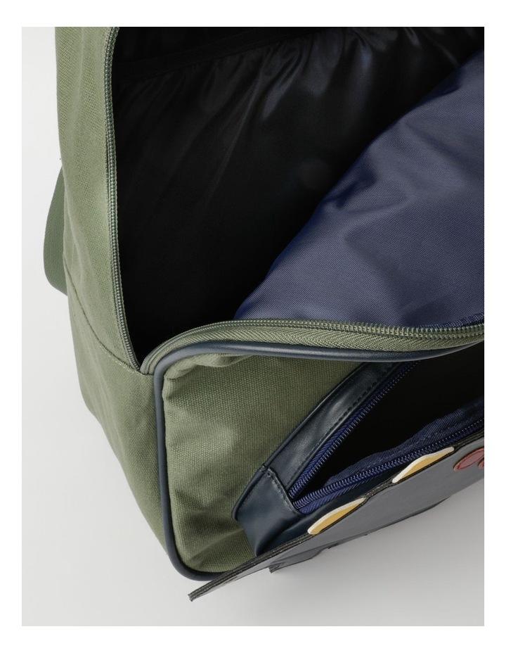 3D Dinosaur Khaki Backpack image 3