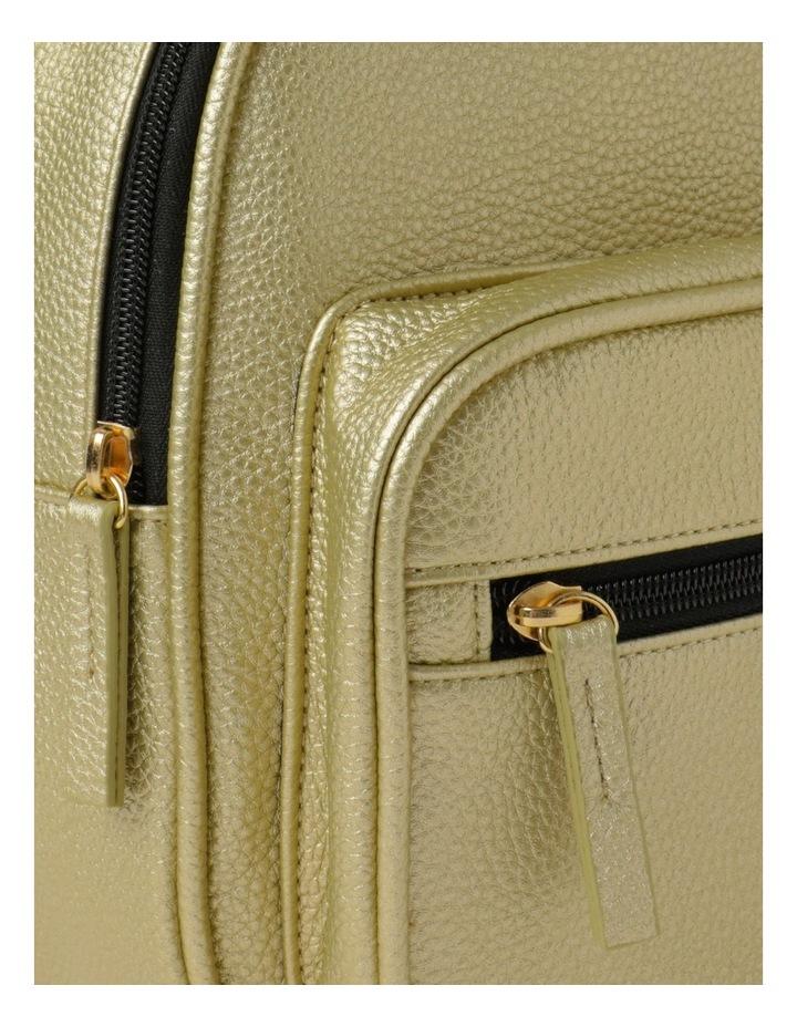 Metallic Backpack image 3