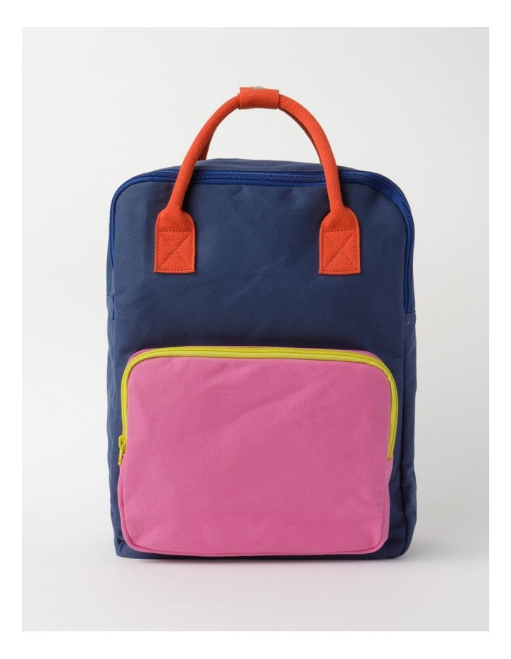 Colour Blocked Backpack image 1