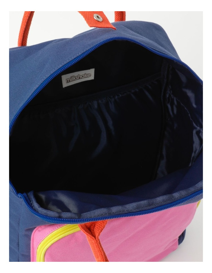 Colour Blocked Backpack image 4
