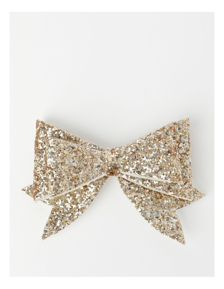 Glitter Bow Clips image 1