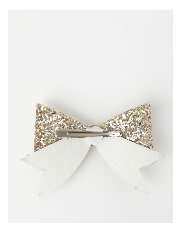 Glitter Bow Clips image 2