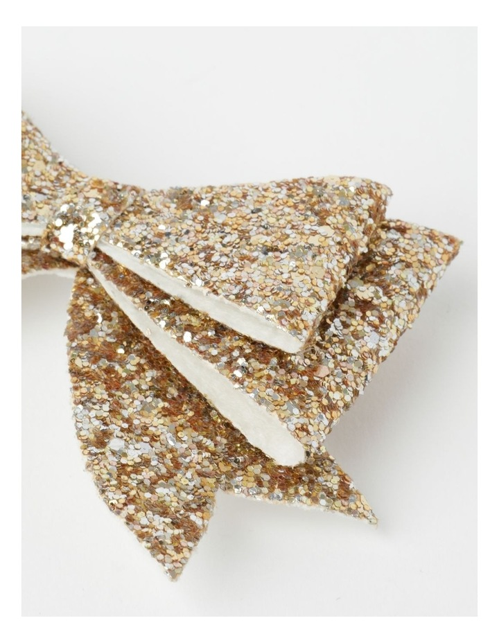 Glitter Bow Clips image 3
