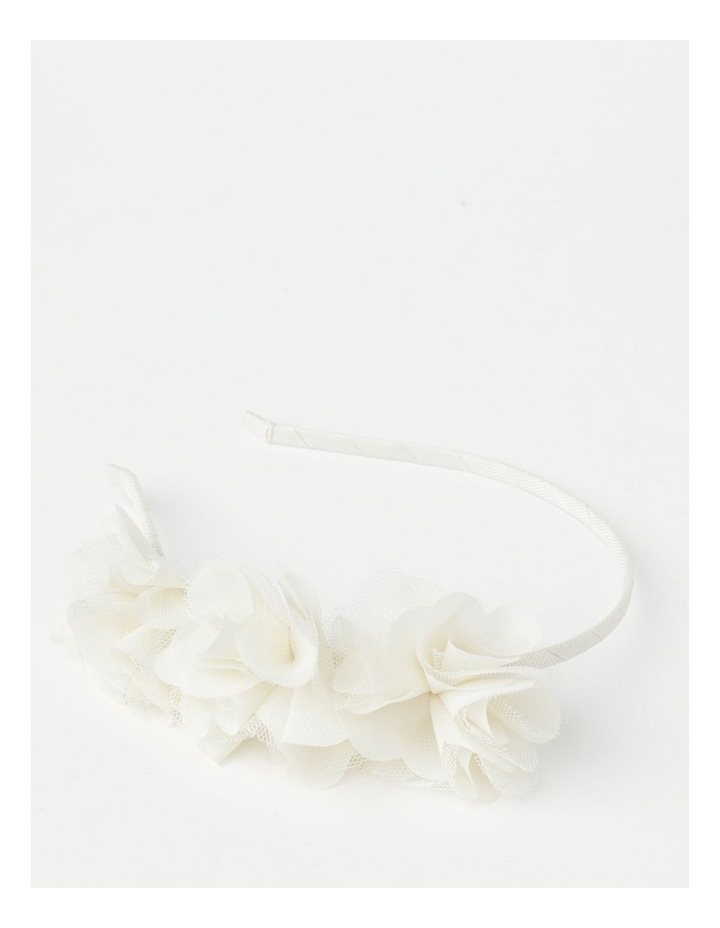 Floral Laser Cut Headband image 1
