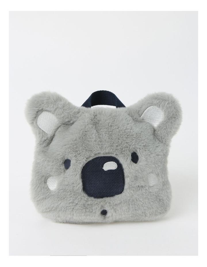Faux Fur Koala Backpack image 1