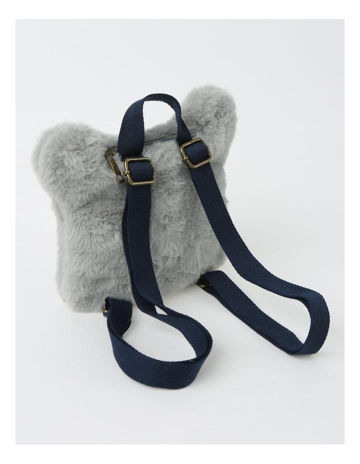 Faux Fur Koala Backpack image 2