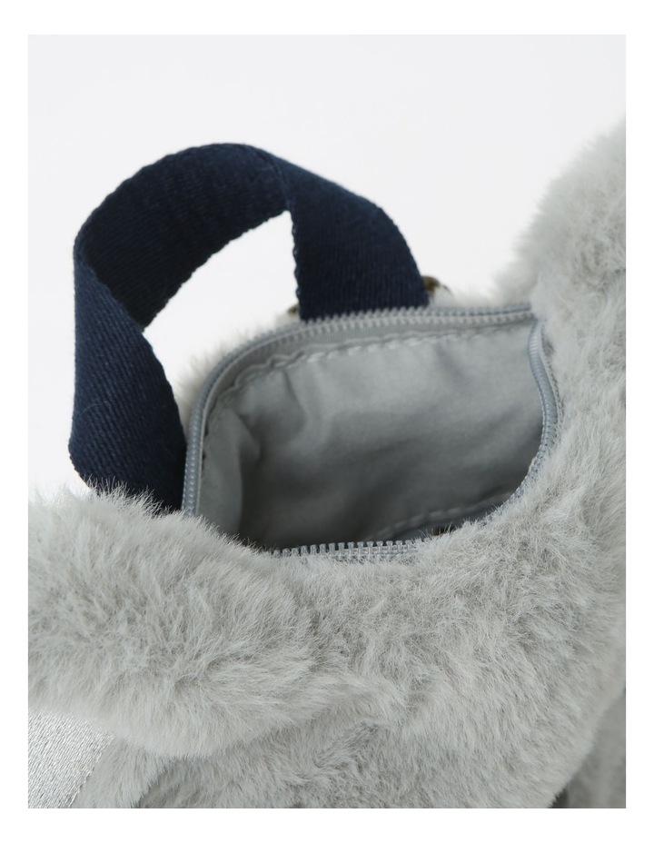 Faux Fur Koala Backpack image 3