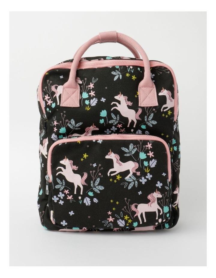 Unicorn Print Backpack image 1