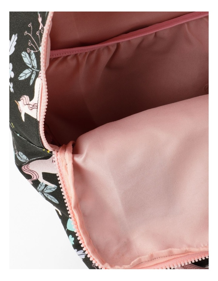 Unicorn Print Backpack image 4