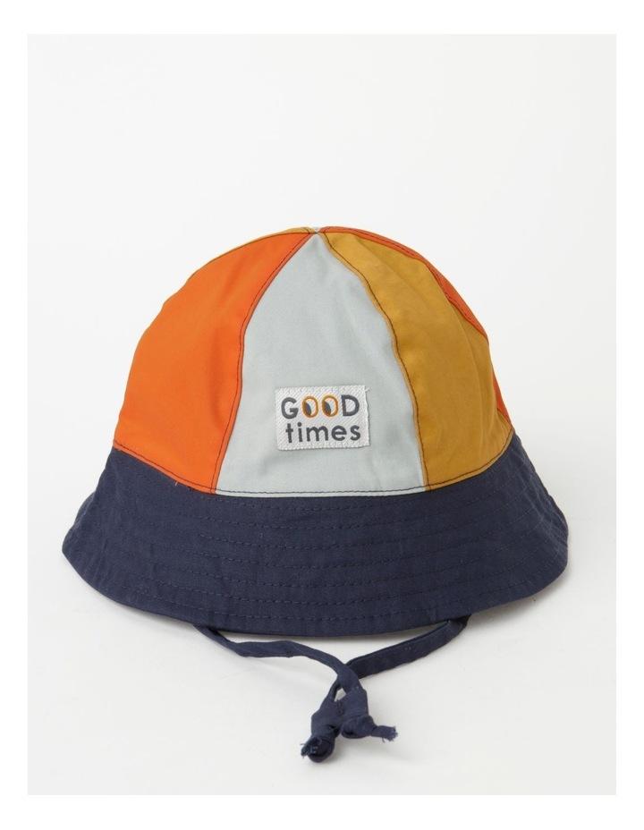 Colour Blocked Sun Hat image 1