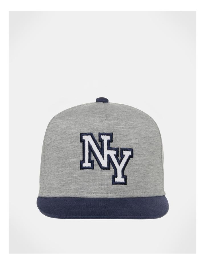 NYC Grey/Navy Knit Cap image 1