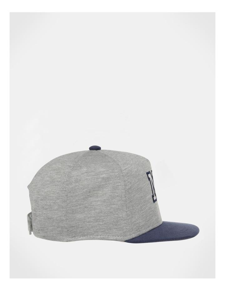 NYC Grey/Navy Knit Cap image 3