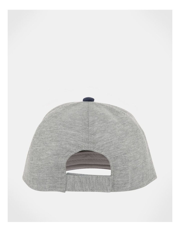 NYC Grey/Navy Knit Cap image 4