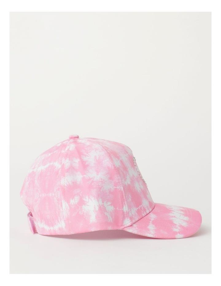 Tie Dye Heart Pink Cap image 2