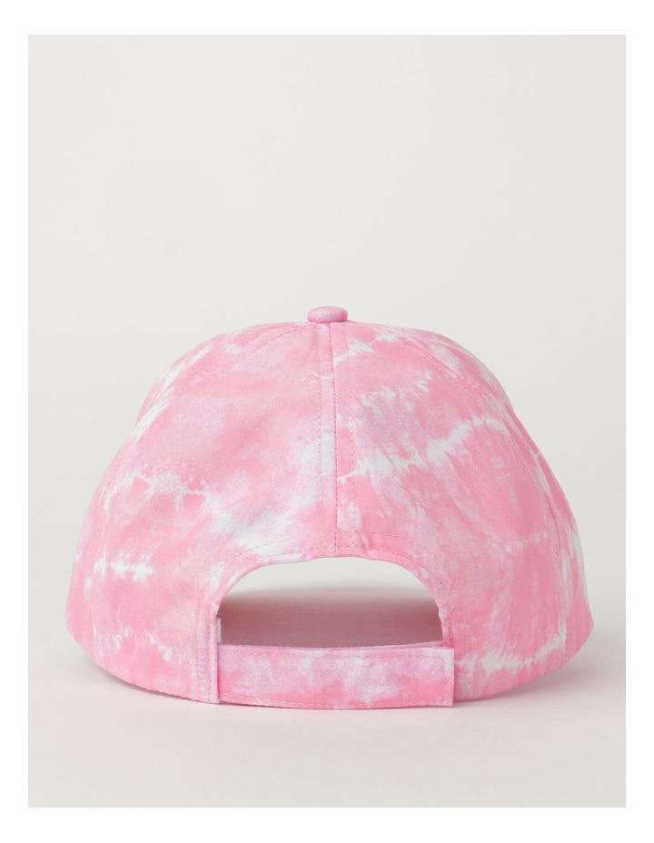 Tie Dye Heart Pink Cap image 3