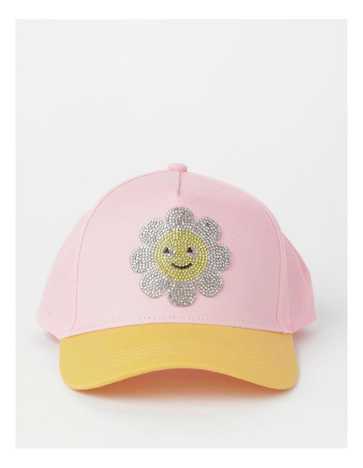 Sequin Smile Pink Cap image 1