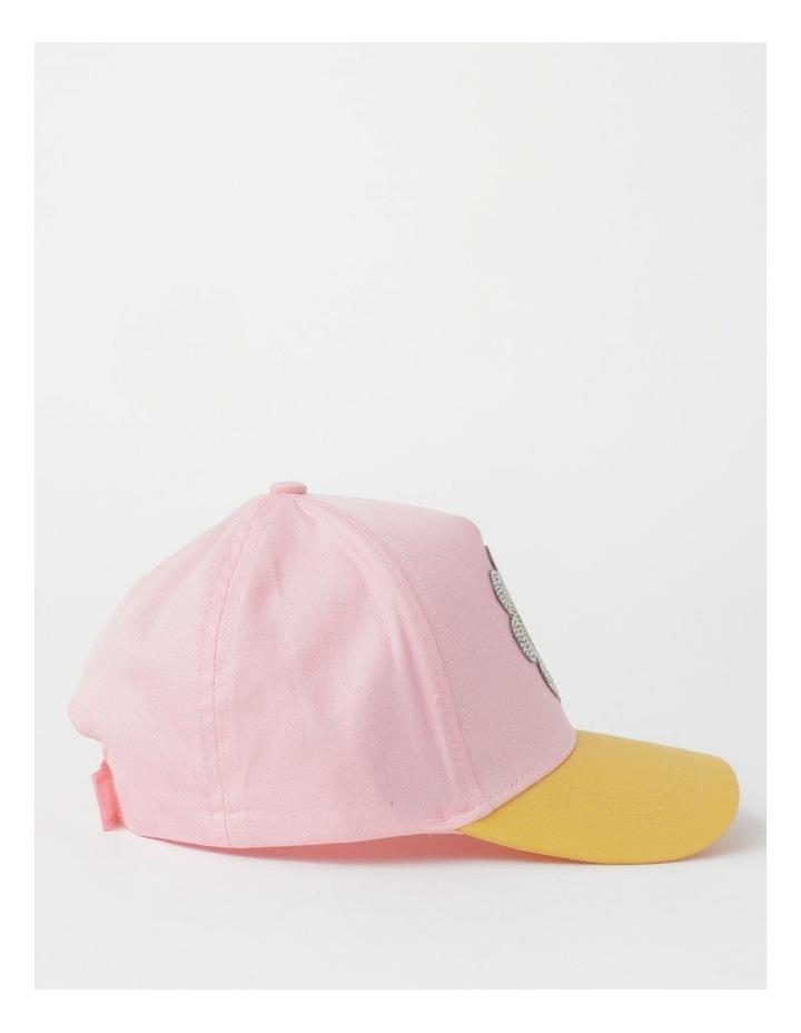 Sequin Smile Pink Cap image 2