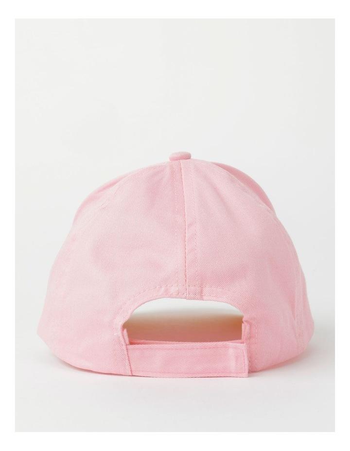 Sequin Smile Pink Cap image 3