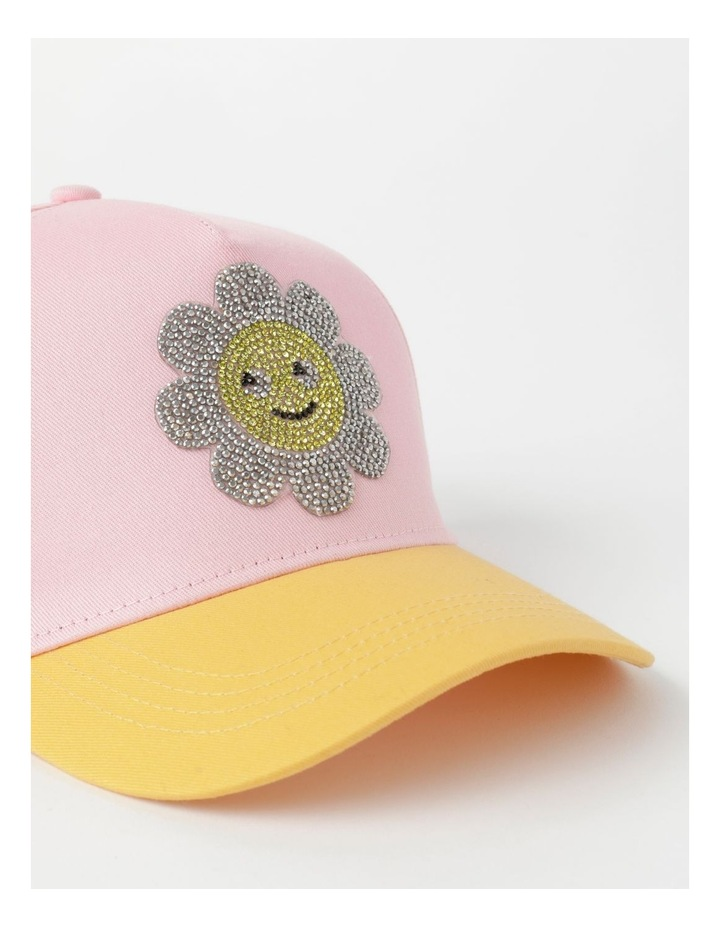 Sequin Smile Pink Cap image 4