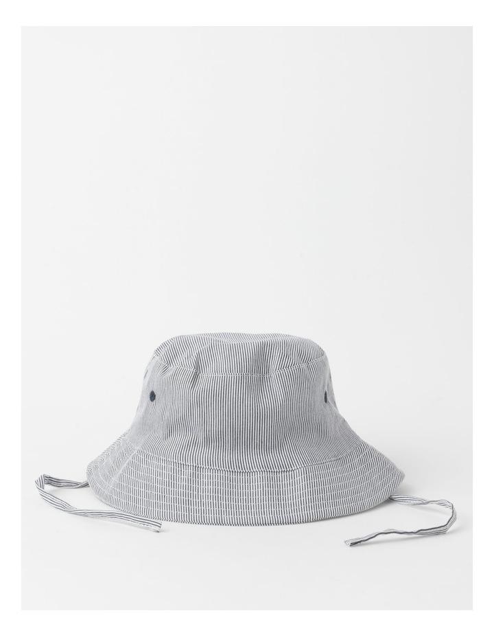 Ticking Stripe Bucket Hat image 1