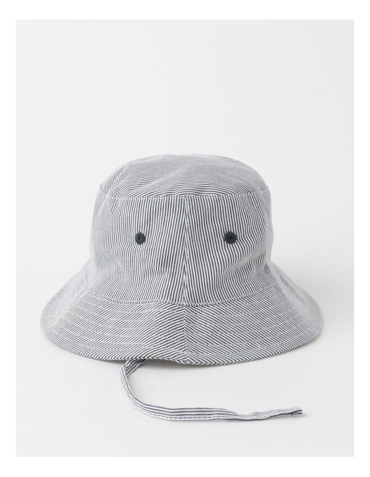 Ticking Stripe Bucket Hat image 2