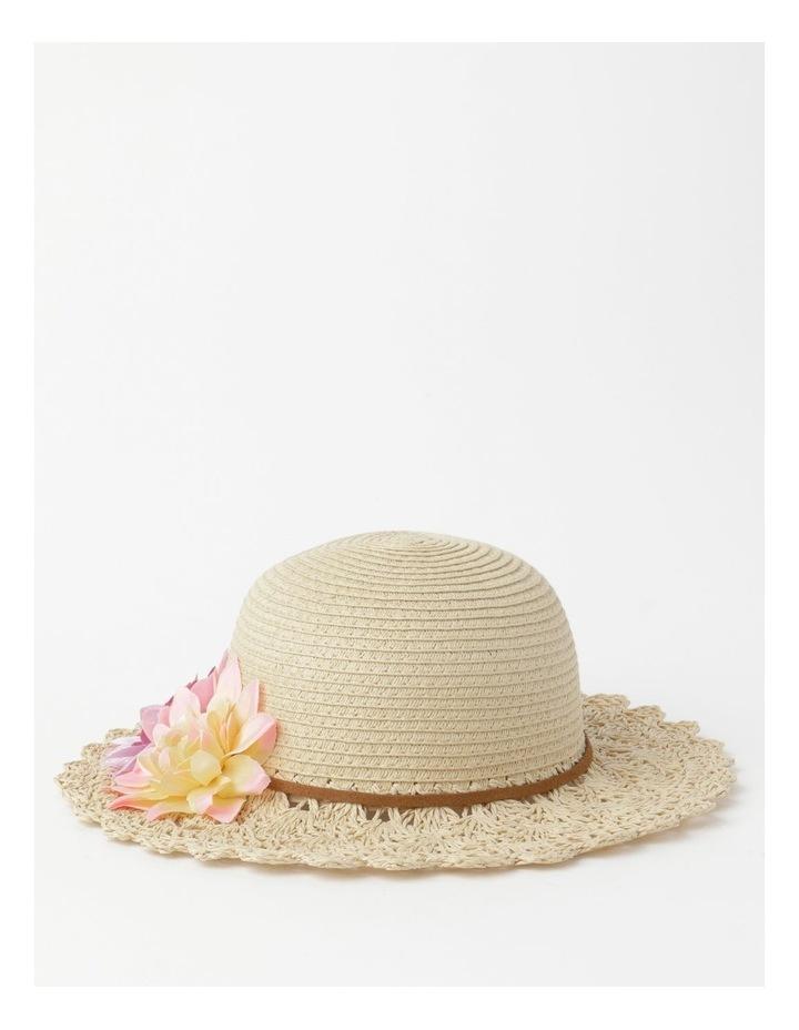 Crotchet Flower Hat image 1