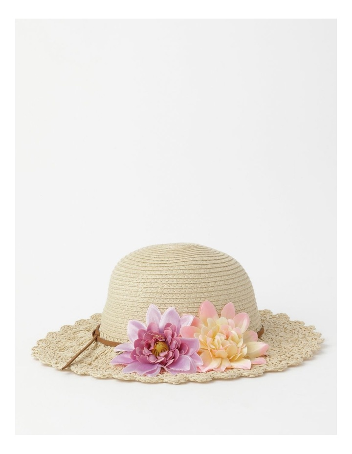 Crotchet Flower Hat image 2