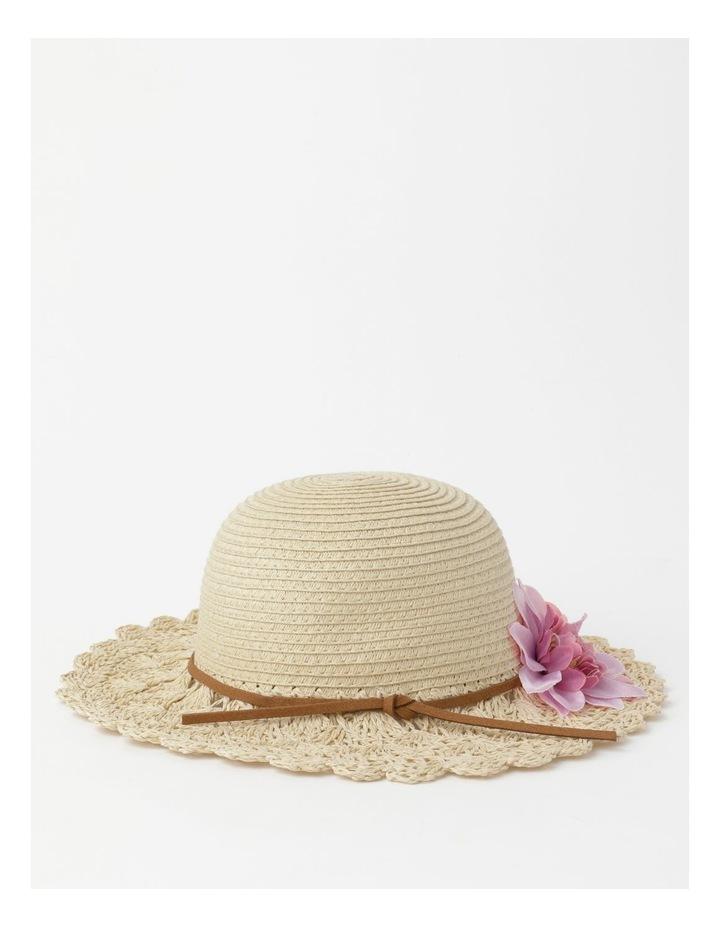 Crotchet Flower Hat image 3
